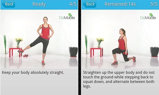 اپلیکیشن Home Workouts