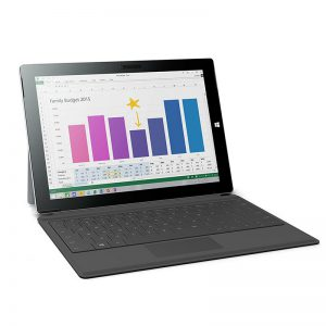 Surface 3 LTE / 128GB SSD/ 4GB RAM With Type Cover